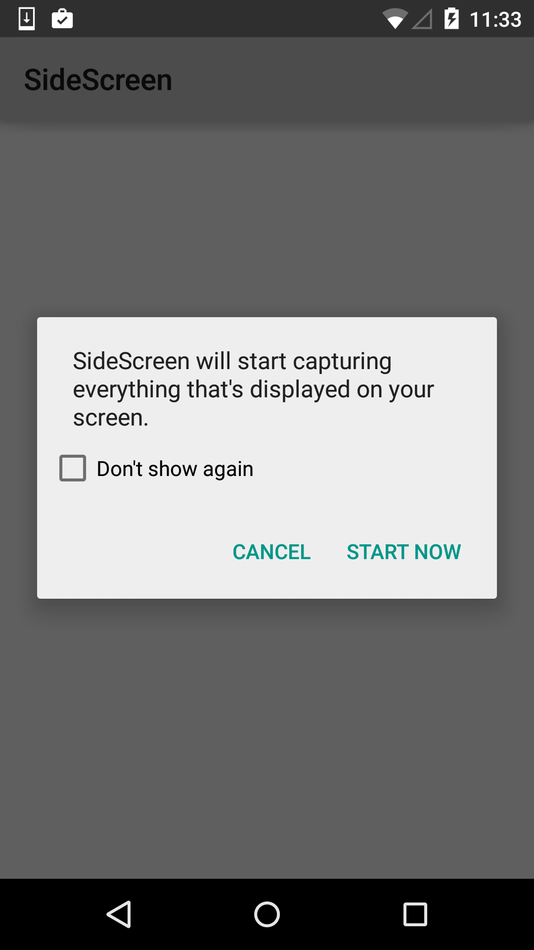 Android Lollipop Screen Capture and Sharing - Data Theorem Lab